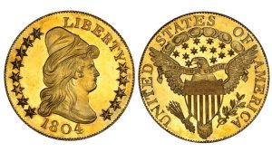 1804 Ten Dollar Gold Piece coin