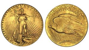 1933 Saint-Gaudens Double Eagle coin
