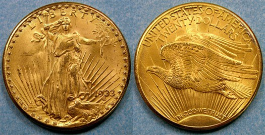 1933 Double Eagle Coin