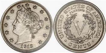 1913 Liberty Head Nickel Coin
