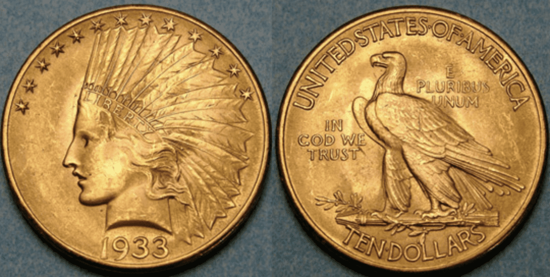 1933 Indi​​​​an Head Gold Eagle