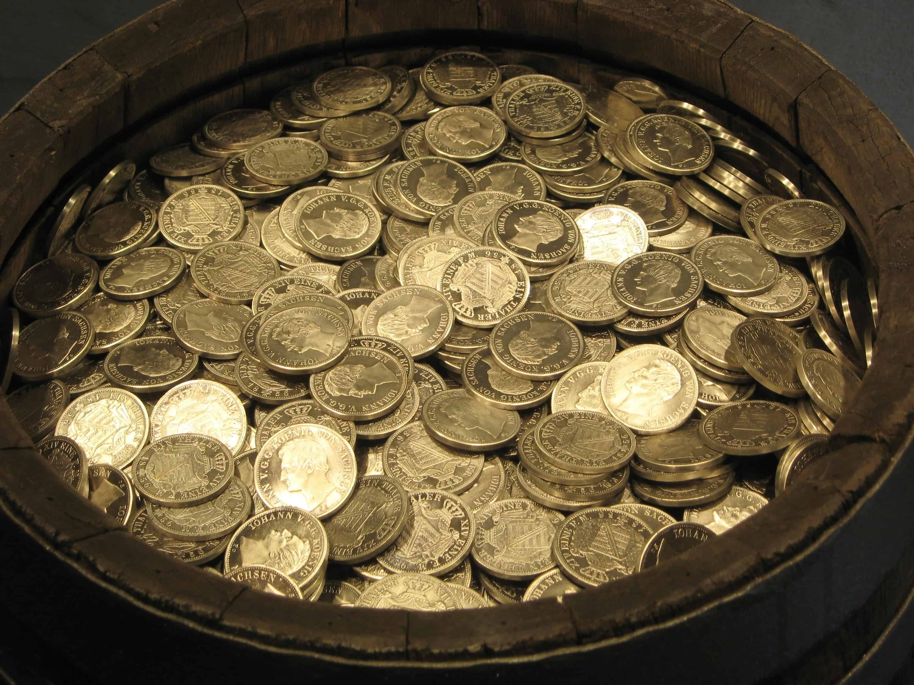 Barrel of Coins